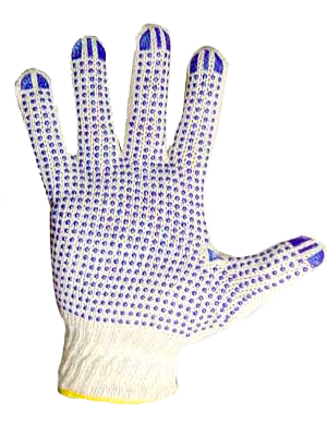 Перчатка хб с ПВХ